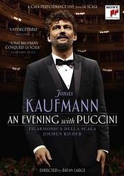 DVD image JONAS KAUFMANN / AN EVENING WITH PUCCINI - (DVD)