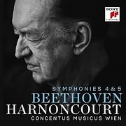 CD image BEETHOVEN / SYMPHONIES NO.4 AND NO.5 (NIKOLAUS HARNONCOURT)