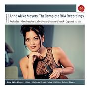 CD image ANNE AKIKO MEYERS / THE COMPLETE RCA RECORDINGS (6CD)