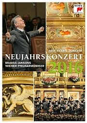 MARISS JANSONS AND WIENER PHILHARMONIKER / NEW YEAR S CONCERT 2016 - (DVD)