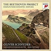 CD Image for OLIVER SCHNYDER / THE BEETHOVEN PROJECT - THE 5 PIANO CONCERTOS AND 4 OVERTURES