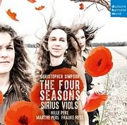 SIRIUS VIOLS / SIMPSON: THE FOUR SEASONS