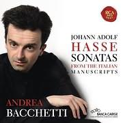 CD image ANDREA BACCHETTI / HASSE: PIANO SONATAS