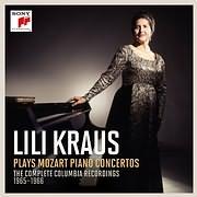 CD image MOZART / LILI KRAUS PLAYS MOZART PIANO CONCERTOS (12CD)
