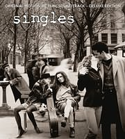 CD Image for SINGLES (VARIOUS) (DELUXE EDITION) (2LP+CD) (VINYL) - (OST)