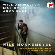 CD image for NILS MONKEMEYER / WALTON - PART - BRUCH