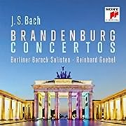 CD image BACH / BRANDENBURG CONCERTOS (BERLINER BAROCK SOLISTEN) (2CD)