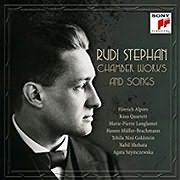 CD image for HINRICH ALPERS / RUDI STEPHAN: CHAMBER WORKS AND SONGS (2CD)