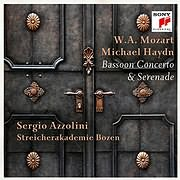 CD image for MOZART - HAYDN / BASSOON CONCERTO AND SERENADE (SERGIO AZZOLINI)