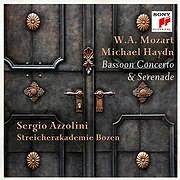 MOZART - HAYDN / BASSOON CONCERTO AND SERENADE (SERGIO AZZOLINI)