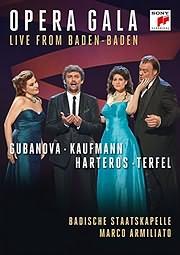 JONAS KAUFMANN - OPERA GALA - LIVE FROM BADEN - BADEN - (DVD)