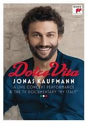 CD Image for JONAS KAUFMANN / DOLCE VITA - (DVD)