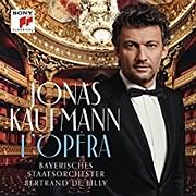 CD Image for JONAS KAUFMANN / L OPERA: THE FRENCH ALBUM (2LP) (VINYL)