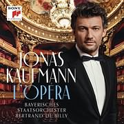 CD image for JONAS KAUFMANN / L OPERA: THE FRENCH ALBUM (DELUXE EDITION)
