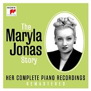CD image for MARYLA JONAS / HER COMPLETE PIANO RECORDINGS (4CD)