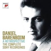 CD image for DANIEL BARENBOIM / A RETROSPECTIVE - THE COMPLETE SONY RECORDINGS (43CD+3DVD)