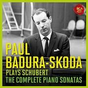 PAUL BADURA - SKODA / PLAYS SCHUBERT - THE COMPLETE PIANO SONATAS (12CD)