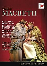CD image for BLU - RAY / VERDI / MACBETH (DOMINGO - JAMES CONLON)