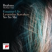 CD image for BRAHMS / THE PIANO TRIOS (YO - YO MA - EMANUEL AX - LEONIDAS KAVAKOS) (2CD)