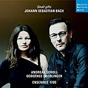 CD image for BACH / SMALL GIFTS (DOROTHEE OBERLINGER)