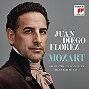 CD Image for JUAN DIEGO FLOREZ / MOZART