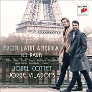 CD image for LIONEL COTTET / FROM LATIN AMERICA TO PARIS