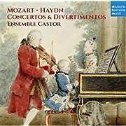 CD image MOZART - HAYDN / CONCERTOS AND DIVERTIMENTOS (ENSEMBLE CASTOR)