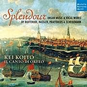 CD image for SPLENDOUR / ORGAN MUSIC - VOCAL WORKS (KEI KOITO)
