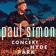 CD + DVD image PAUL SIMON / THE CONCERT IN HYDE PARK (2CD+BLU - RAY)