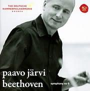 CD image BEETHOVEN / SYMPHONY 9 (PAAVO JARVI)