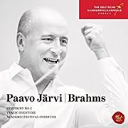 CD image for BRAHMS / SYMPHONY NO.2 (PAAVO JARVI)