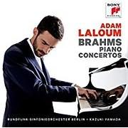 CD Image for BRAHMS / PIANO CONCERTOS (ADAM LALOUM) (2CD)