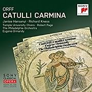 CD Image for ORFF / CATULLI CARMINA REMASTERED (EUGENE ORMANDY)