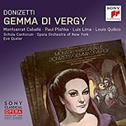 CD image for DONIZETTI / GEMMA DI VERGY REMASTERED (EVE QUELER) (2CD)