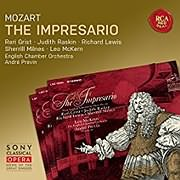 CD image for MOZART / THE IMPRESARIO (ANDRE PREVIN)