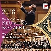 DVD image RICCARDO MUTI / NEUJAHRSKONZERT - NEW YEAR S CONCERT 2018 (WIENER PHILHARMONIKER) - (DVD)