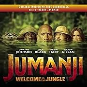 CD Image for JUMANJI: WELCOME TO THE JUNGLE (HENRY JACKMAN) - (OST)