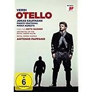 CD Image for BLU - RAY / VERDI / : OTELLO (JONAS KAUFMANN)