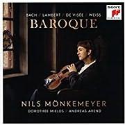 CD Image for NILS MONKEMEYER / BAROQUE