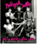 DVD image NEW YORK DOLLS / ALL DOLLED UP - (DVD)