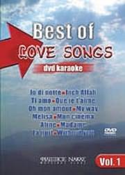 DVD image KARAOKE / BEST OF LOVE SONGS ΝΟ 1 (DVD)