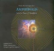 CD image PARIS PARASHOPOULOS / AMPHIPOLIS - AMFIPOLIS / SUITE FOR PIANO AND SAXOPHONE (HERMES DUO)