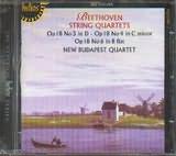 CD image BEETHOVEN / STRING QUARTETS Vol.2 OP.18 No.3 - 4 - 6