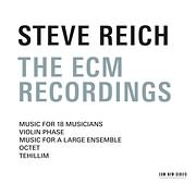 CD image STEVE REICH / THE ECM RECORDINGS (MUSIC FOR 18 MUSICIANS, OCTET, TEHILLIM) (3CD)