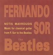 CD image NOTIS MAYROUDIS / ERGA GIA KITHARA - PAIZEI BEATLES KAI FERNANDO SOR