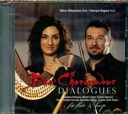 CD image DUO CHORIAMBUS / DIALOGUES - FOR FLUTE AND HARP
